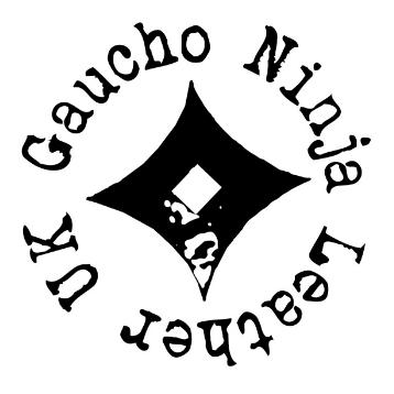 Gaucho Ninja Leather Logo