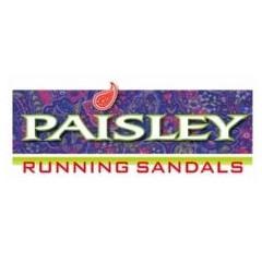 Paisley Running Sandals Logo